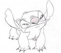 Stitch 24 Coloring Page