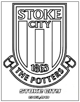 Stoke City F.C. Coloring Page