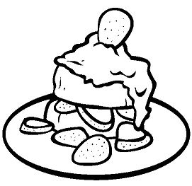 Strawberry Shortcake 1 Coloring Page