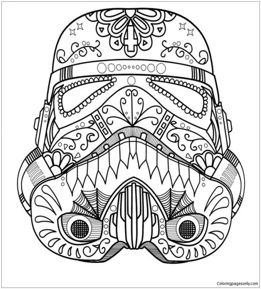 - Sugar Skull Coloring Page - Free Coloring Pages Online