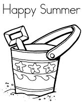 Summer Bucket and Shovel