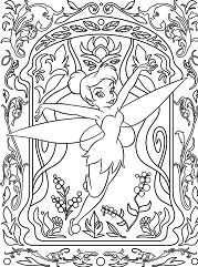 Super Cool Disney Coloring Page