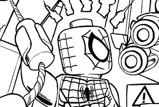 Superhero Rhino And Sandman Super Villain