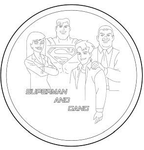 Superman And His Group