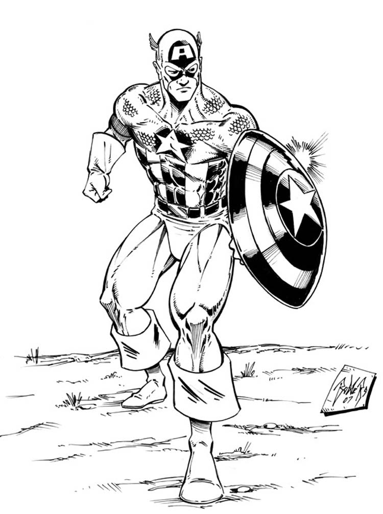 Superpowers Captain America