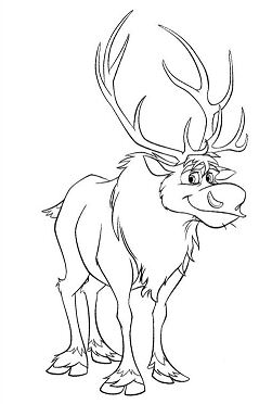 Sven From Frozen