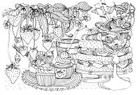 Sweet Treats Coloring Page