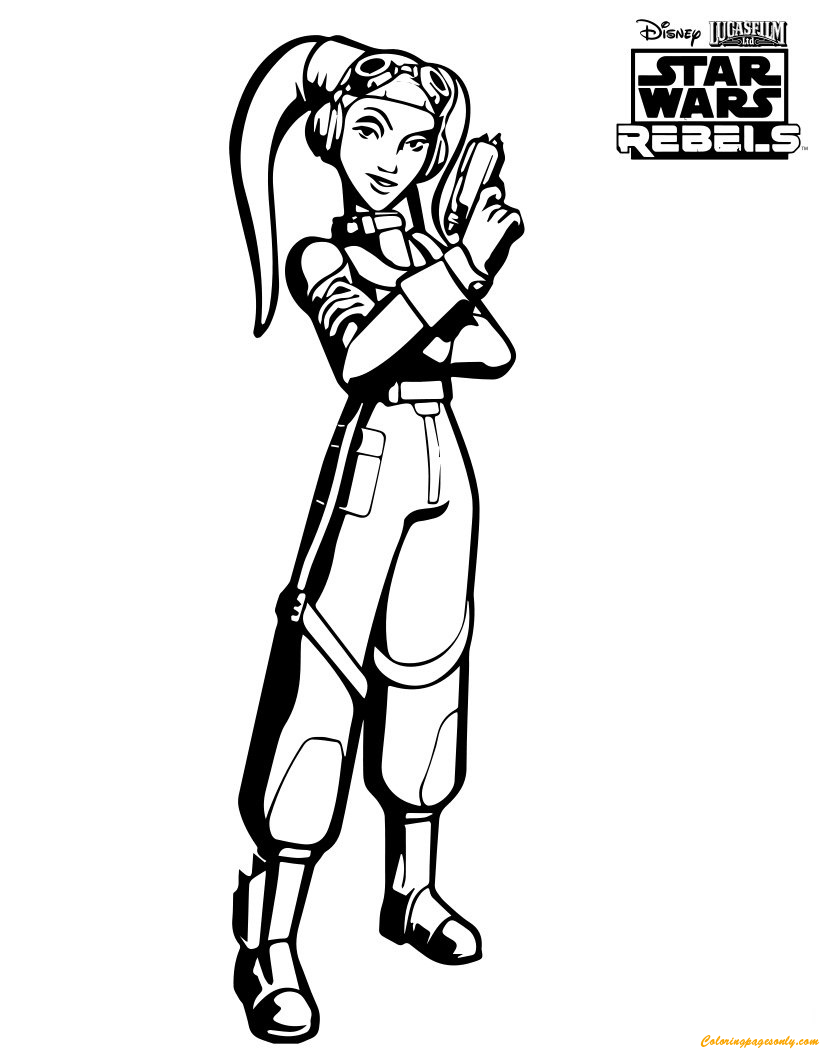 SWR-Hera Coloring Pages