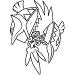 Tapu Koko Pokemon Coloring Page