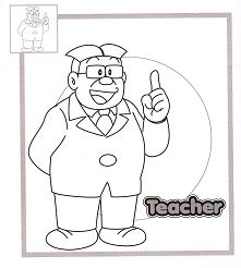 Teacher of Nobita and his friend