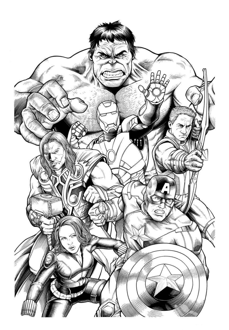 Team Members of Avengers