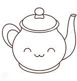 Teapot Kawaii Shopkins