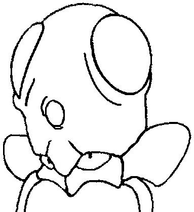 Tentacool Pokemon Coloring Page