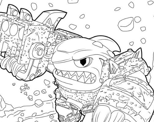Camo skylanders coloring page free coloring pages online for Camo coloring pages