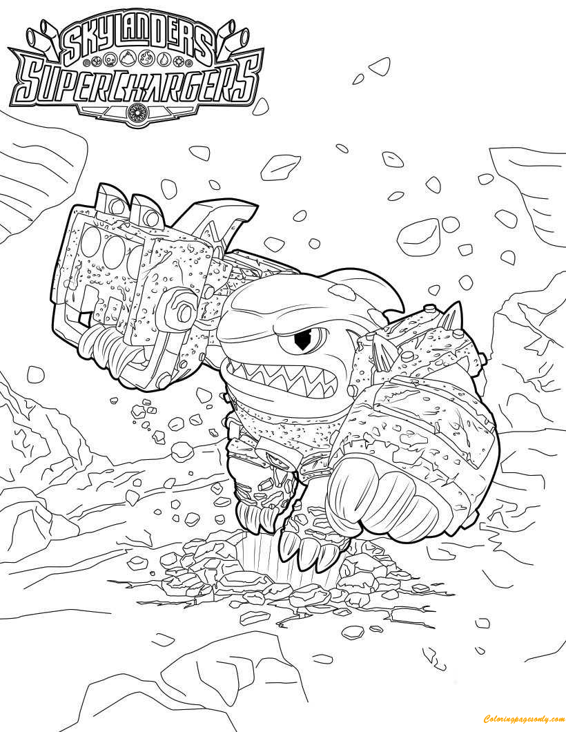 Terrafin Coloring Page