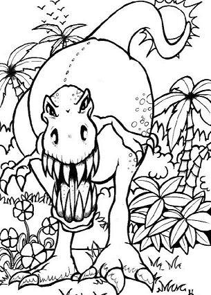Terrifying Tyrannosaurus