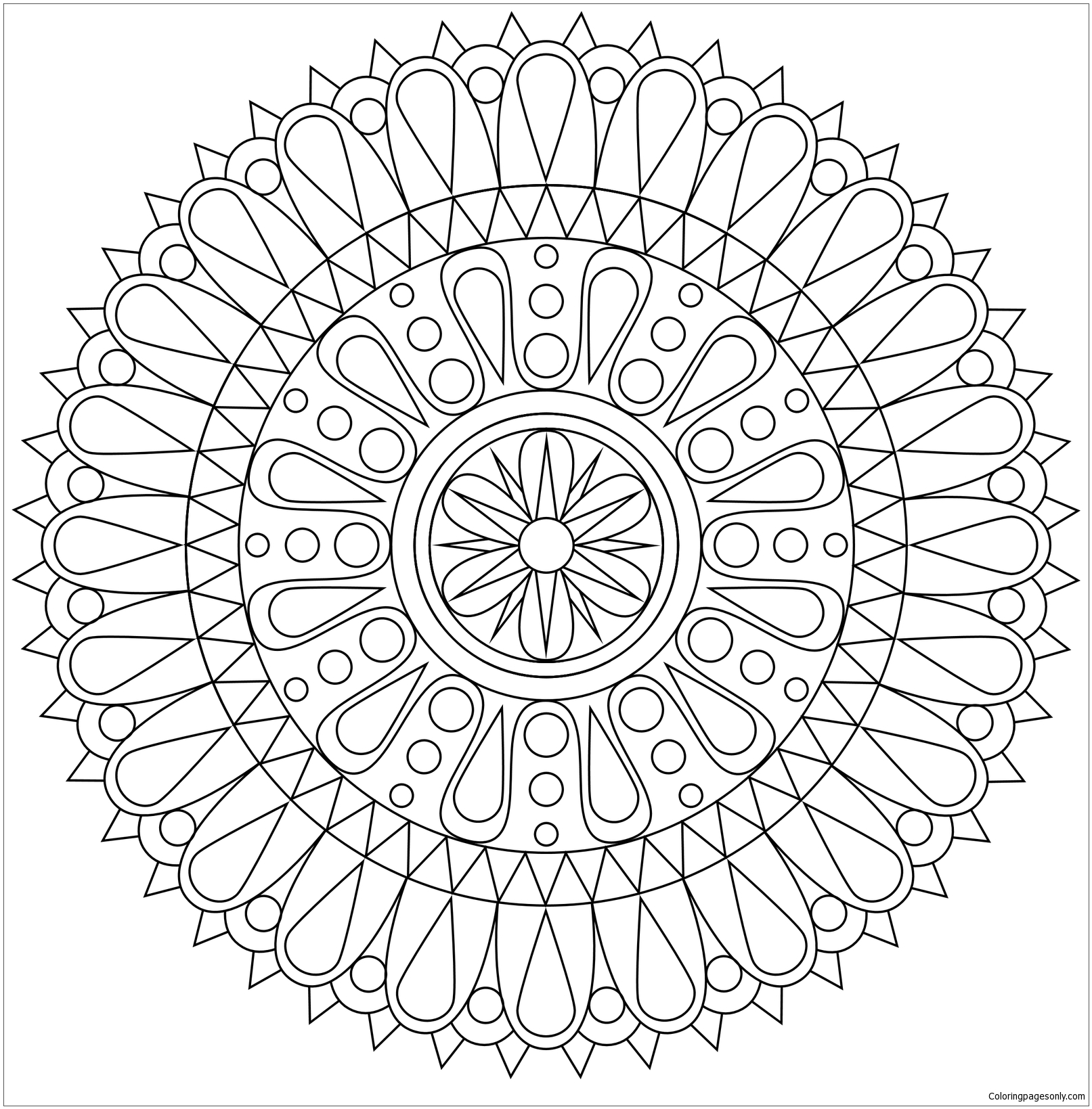 The Best Alternative To Meditation Coloring Page
