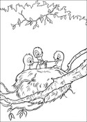 The nestling from Bambi Coloring Page
