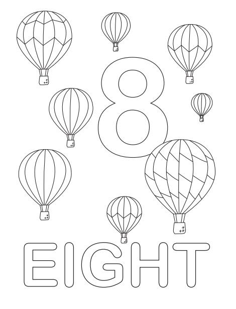 The Eight Hot Air Balloons