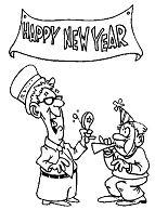 The Elderly Celebrating New Year
