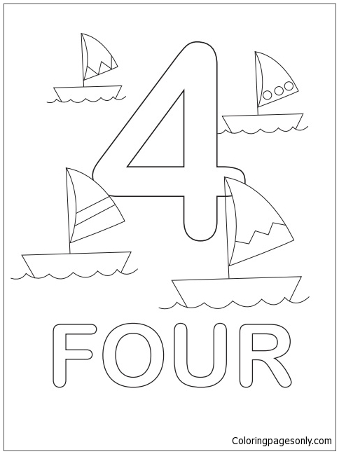 12 Best Free Printable Boat Coloring Pages For Kids | 648x484