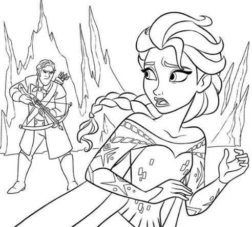 The Guard Corners Elsa