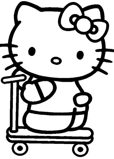 The Hello Kitty Riding Tri-Cycle