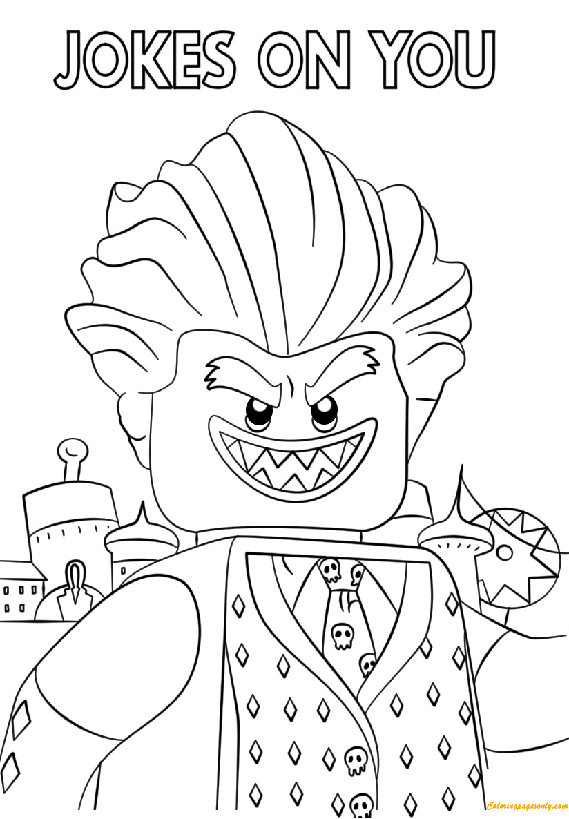 Lego Batman Movie Jocker Coloring