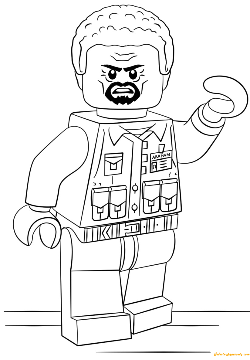 The LEGO Batman Movie Lego Aaron