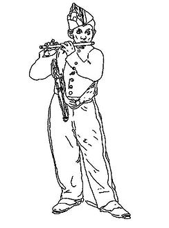 The Manet Coloring Page