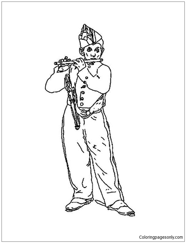 The Manet Coloring Pages