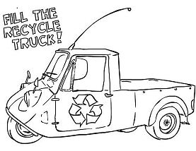 The Recycling Truck