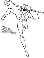 The Riddler Batman Enemy Coloring Page