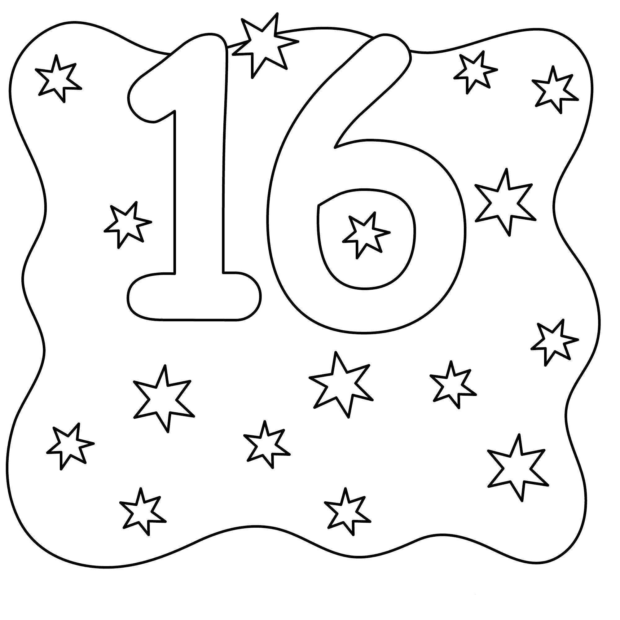 The Sixteen Stars