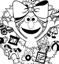 The Sun Flower Coloring Page