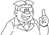 The teacher of Nobita