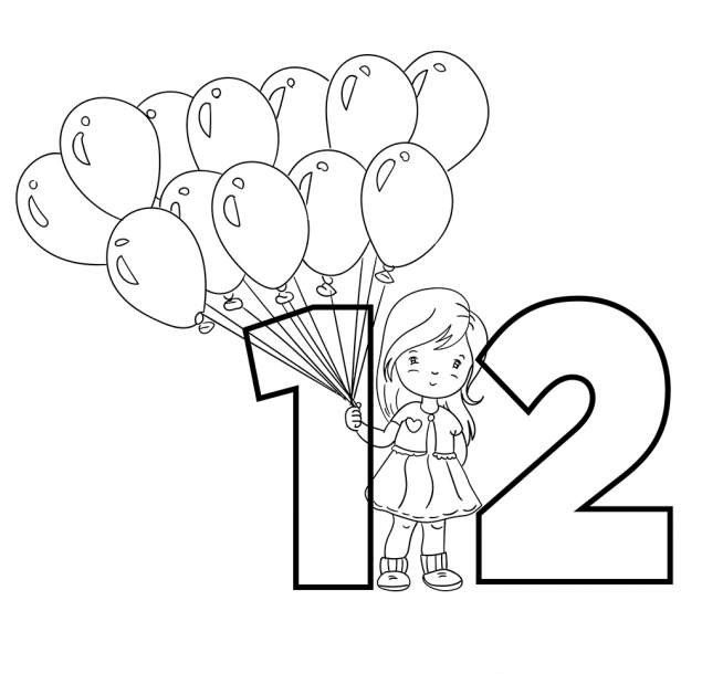 The Twelve Balloons