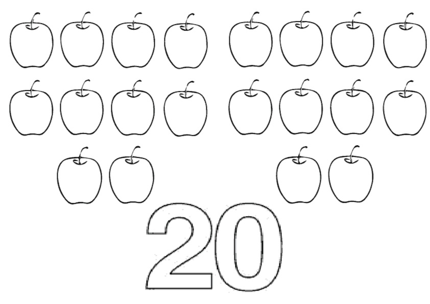 The Twenty Apples