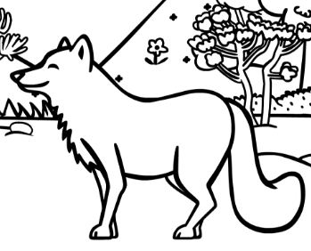 Hard Forest Animals Coloring Page - Free Coloring Pages Online