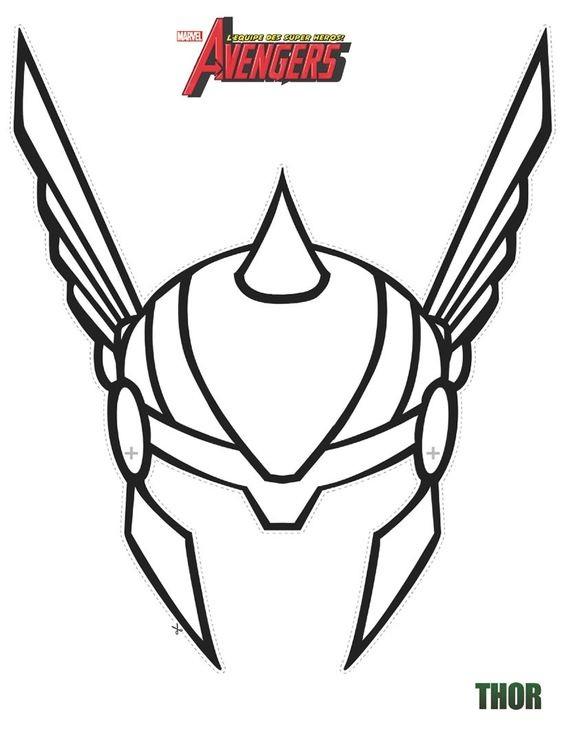 Thor Helmet Costume