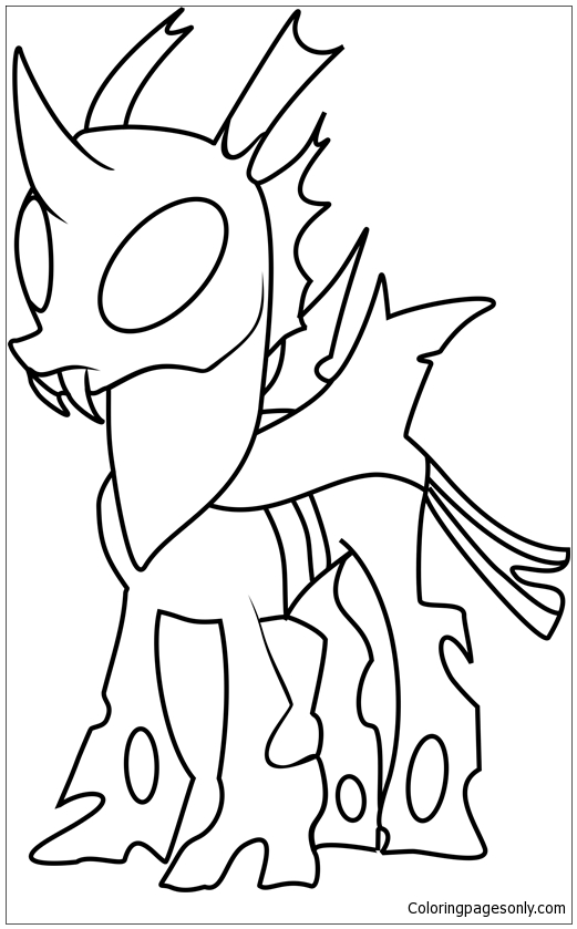 Thorax Mature From My Little Pony Coloring Pages