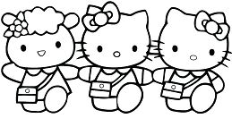 Three Hello Kitty Classy