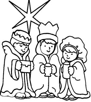 Three Wise Men On Christmas Day