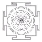 Tibetan Sri Yantra Mandala