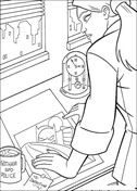 Detective  from Batman Coloring Page