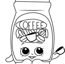 Toffy Coffee Shopkins