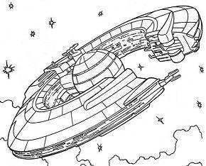Trade Federation Cruiser