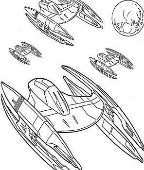 Trade Federation Spaceship