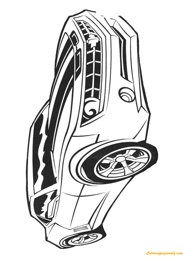 Transformer Cars Coloring Page Free Coloring Pages Online
