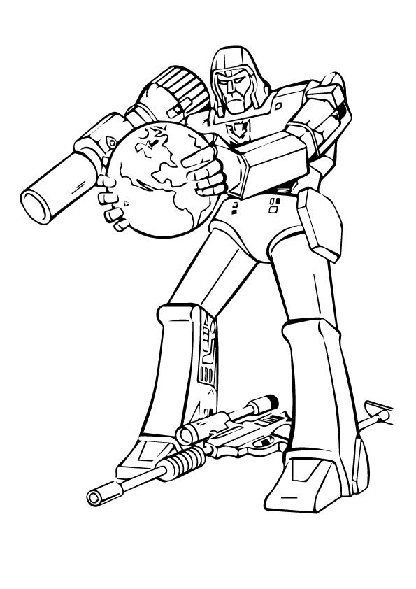 Transformer Lone Fighter
